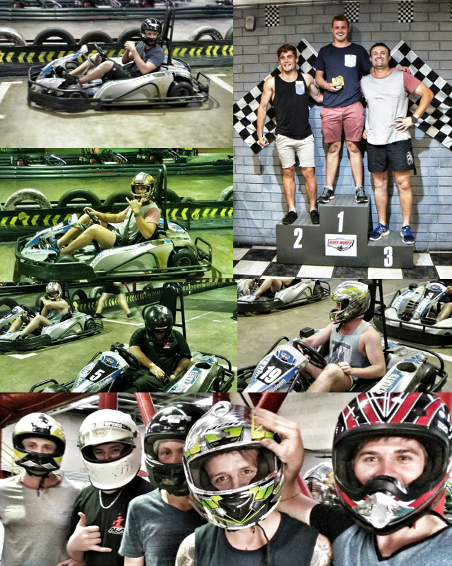 Team Building @ Kart World March 15
